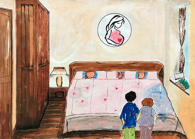第八屆萬丹山繪畫比賽 得獎作品佳 作